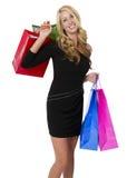 Jeune client féminin photo stock