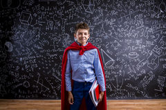 Jeune écolier bel Image stock
