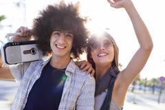 Jeune concept d'amitié de la jeunesse de groupe Images stock