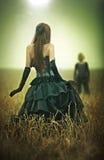 Jeune concept de couples de goth Photo libre de droits