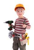 Jeune constructeur Photographie stock