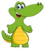 Jeune crocodile illustration stock