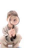 Jeune détective Photographie stock libre de droits