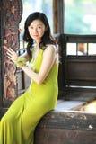 Jeune dame élégante Images stock