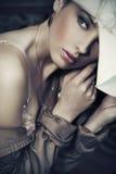 Jeune dame Photo stock