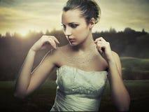 Jeune dame Image stock