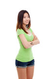 Jeune dame asiatique. images stock