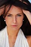 Jeune dame confiante Photographie stock libre de droits