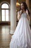 Jeune dame de victorian Images stock