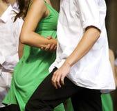 Jeune danse de couples Image libre de droits