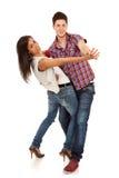Jeune danse de couples Image stock
