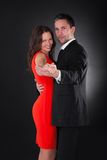 Jeune danse de couples photos stock
