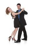 Jeune danse de couples photo libre de droits
