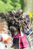 Jeune danse de Natif américain Photo stock