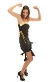 Jeune danseur élégant Images libres de droits