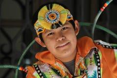 Jeune danseur de cercle Photographie stock libre de droits