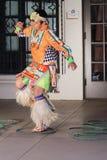 Jeune danseur de cercle Photos stock