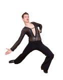Jeune danseur de salle de bal Images stock