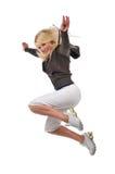 Jeune danseur moderne d'houblon de gratte-cul image libre de droits