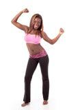 Jeune danseur moderne frappant une pose de danse. Photos libres de droits