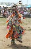 Jeune danseur non identifié de Natif américain au prisonnier de guerre wow de NYC Images libres de droits