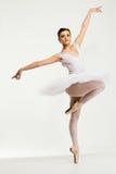 Jeune danseuse de ballerine Images libres de droits