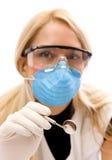 Jeune dentiste Photo stock