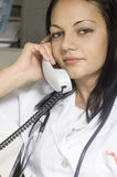 Jeune docteur Photos libres de droits