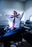 Jeune employé de bureau Image stock