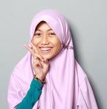 Jeune enfant de musulmans photos libres de droits