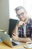 Jeune entrepreneur image libre de droits