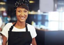 Jeune entrepreneur africain réussi images libres de droits