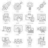Jeune entreprise de noir de vecteur de Digital Photographie stock libre de droits