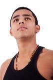 Jeune et bel homme latin Images libres de droits