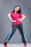 Jeune et belle danseuse de femme Images stock