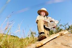 Jeune explorateur Image libre de droits