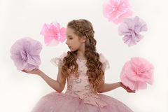 Jeune fée magique photos stock