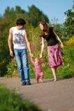 jeune famille Photographie stock libre de droits
