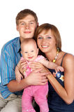Jeune famille Images stock