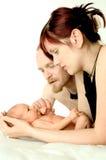 Jeune famille photos libres de droits