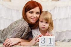 Jeune famille heureuse Images stock