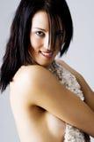 Jeune femelle avec le dos sexy Image libre de droits