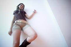Jeune femelle de gratte-cul Photographie stock libre de droits