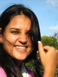 Jeune femelle de sourire Photos libres de droits