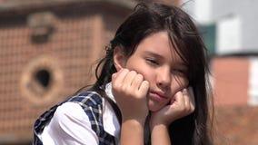 Jeune femelle et tristesse photos stock