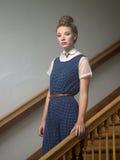 Jeune femme à la mode Photo libre de droits