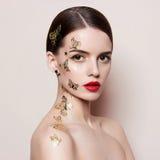 Jeune femme à la mode Images libres de droits
