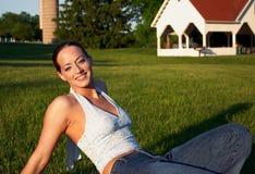 Jeune femme 2 photos stock