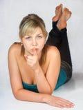 Jeune femme Image stock