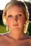Jeune femme Photographie stock